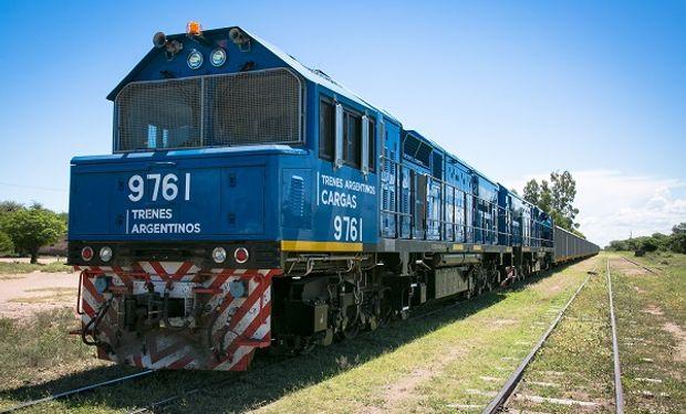 El tren de carga aumentó un 27 % el volumen transportado en la primera mitad de 2020