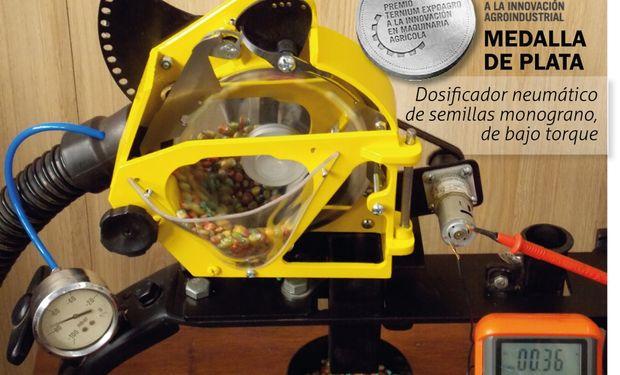 Dosificador de semillas monograno neumático de bajo torque.