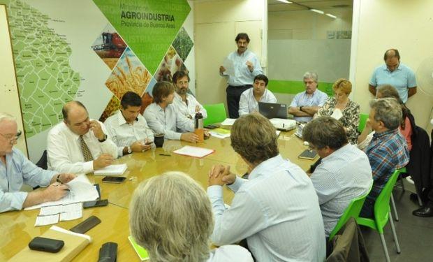 Se reunió la Comisión de Emergencia Agropecuaria de la Provincia.