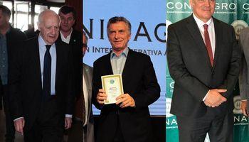 Frases destacadas de Macri, Espert y Lavagna sobre el campo