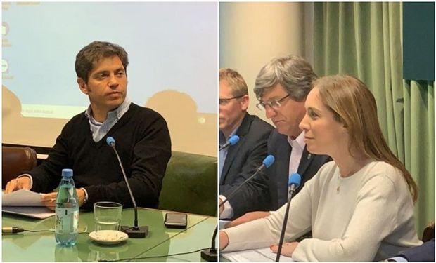 Vidal y Kicillof respondieron sobre temas del campo.