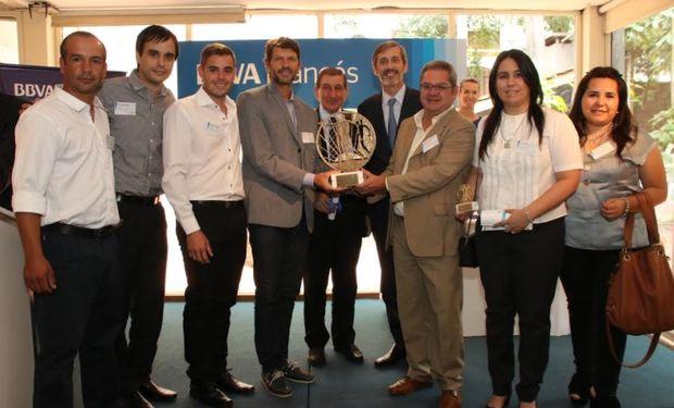 Agroberries ganó el premio al Emprendedor Agropecuario 2017.