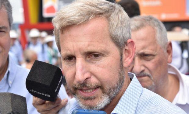 El ministro del Interior recorrió Expoagro.