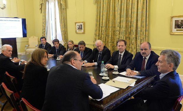 Miembros del Consorcio ABC se reunieron con el Presidente.
