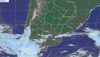Pulso de aire frío ingresa desde el sur