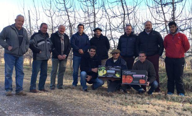 El equipo nacional de Cambio Rural recorrió el Alto Valle.
