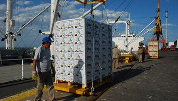 Se hunden las ventas de frutas al exterior