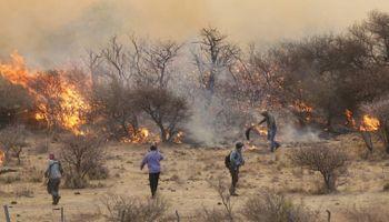 Alerta amarilla en Córdoba por los incendios: se registran 10 días consecutivos de focos activos