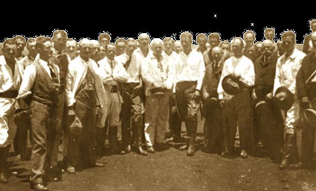 Patio del Puesto Curuzú 19-12-1926 - día de la fundación