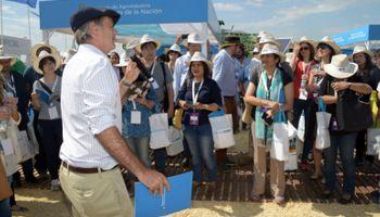 Delegación del G20 recorrió Expoagro para conocer el potencial del campo argentino