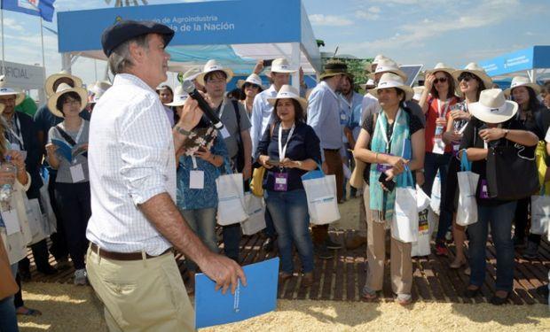 Agroindustria recibió a la delegación del G20.