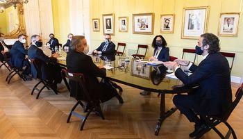 Con la participación de Basterra, se realizó la primera reunión del Gabinete de Comercio Exterior