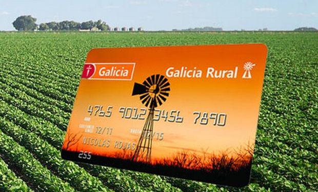 Banco Galicia siempre junto al campo.