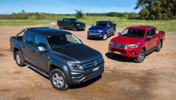 Una pick up sigue siendo el vehículo más vendido del país