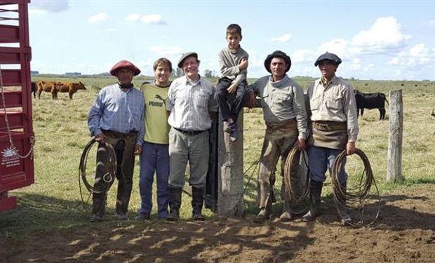 Los Sellares triplican la producción de carne con el pastoreo intensivo.