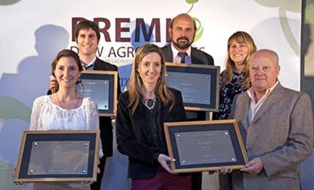 ¿Quiénes ganaron el Premio Dow AgroSciences al Desarrollo de Personas en el Sector Agropecuario?