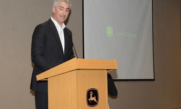 Gastón Trajtenberg. Presidente Industrias John Deere Argentina.