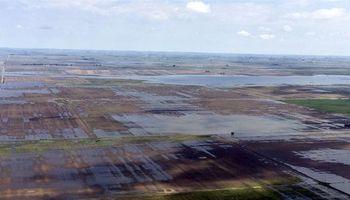 Se agrava la inundación en General Villegas