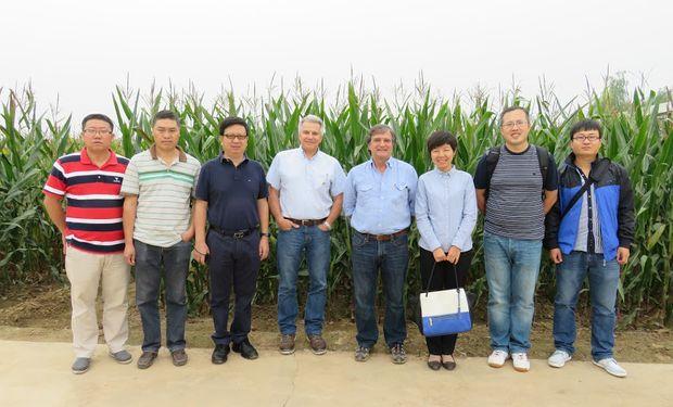 China apuesta al desarrollo agrícola con genética argentina.