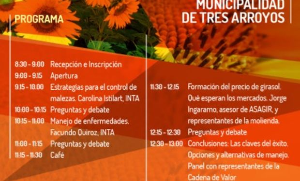La cita será el próximo 16 de agosto en la Sociedad Rural de Tres Arroyos.