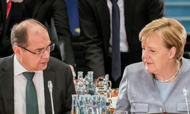 Merkel mostró ayer su indignación por el proceder del ministro de Agricultura.