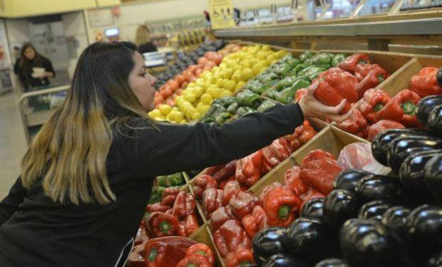 La manzana roja y la pera fueron los productos que mostraron mayor disparidad en su valor.