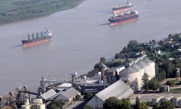 Crecieron los embarques de granos en el año 2016.