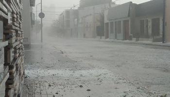 Granizo y lluvia en Río Cuarto: las imágenes que dejó el temporal