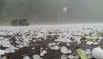 El Servicio Meteorológico Nacional alerta tormentas fuertes y caída de granizo