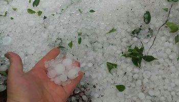 Servicio Meteorológico Nacional emitió alerta por tormentas y granizo en el centro del país