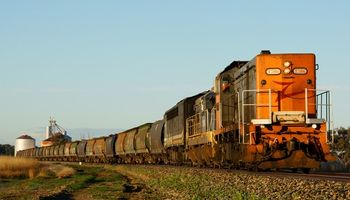 Ferrocarril: clave para el transporte de granos