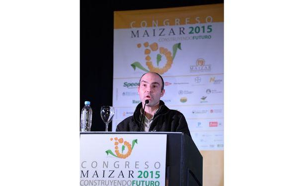 """Gustavo Ferraris, de INTA, en el panel: """"Tecnologías que debemos tener en cuenta""""."""