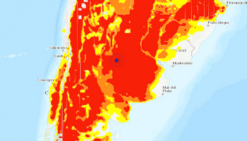 Los mapas que anticipan un fuerte enfriamiento