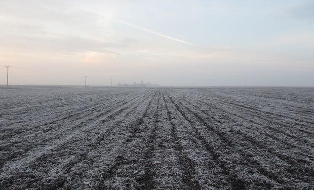 Se esperan heladas en gran parte del territorio.