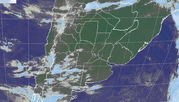 Intensas heladas en el sudoeste de Buenos Aires