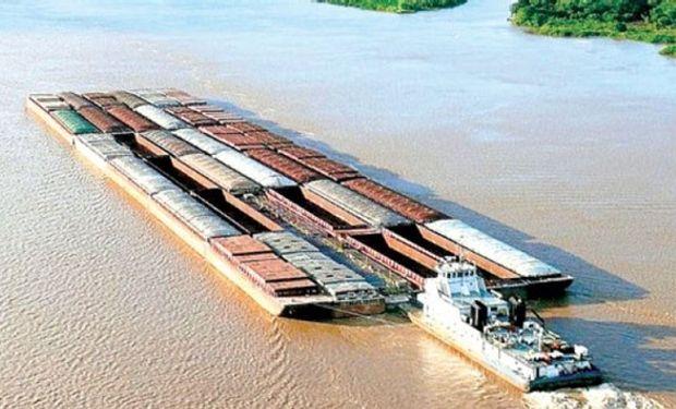 Crece el comercio a través de la Hidrovía.