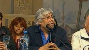 """Moyano: """"De qué piquetes me hablan, este es un mensaje de la sociedad al Gobierno"""""""