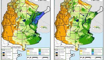 Las zonas que tienen riesgo de déficit hídrico y que podrían enfrentar una sequía en invierno