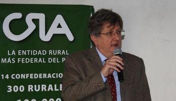 Reeligieron a Ferrero como presidente de CRA