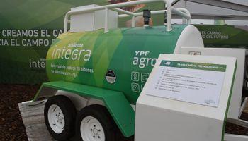 YPF lanzó Integra, un sistema de fitosanitarios a granel