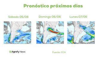Pronóstico del tiempo: inestabilidad en la región centro