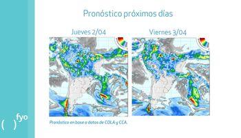 Pronóstico de lluvias no amenazarían la cosecha