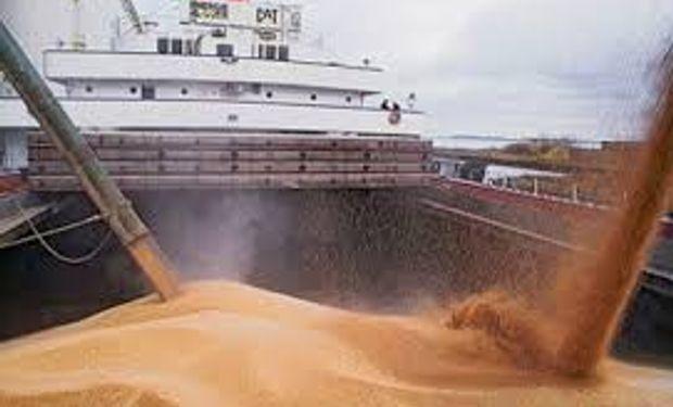 Exportación récord de soja en Brasil