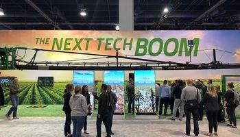 John Deere representa al agro en el CES 2020 de Las Vegas