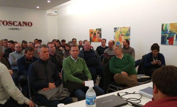 Reunión de la Mesa de Productores de Leche de Santa Fe.