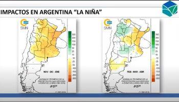 Año Niña: qué dicen las tendencias climáticas para los próximos trimestres en Estados Unidos, Brasil y Argentina