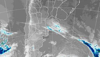 La inestabilidad comenzará a afianzarse, pero dejaría lluvias débiles