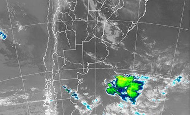 Durante el martes y miércoles las tormentas serán puntuales, pero desde el jueves el área de lluvias de milimetrajes importantes ganará territorio.