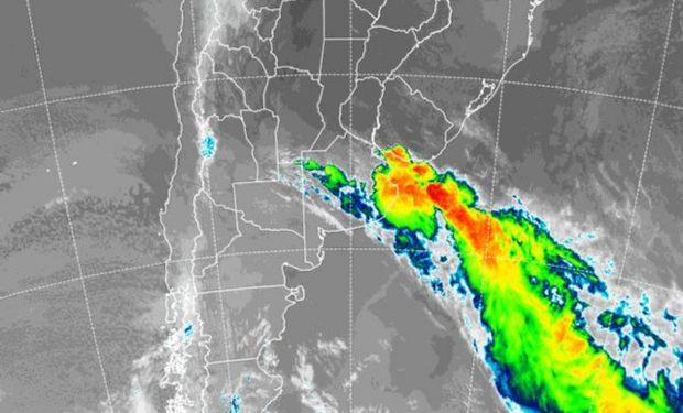 Durante las últimas horas de la madrugada se han observado lluvias modestas y algunas tormentas en el sudeste.