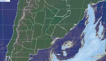 Alerta por vientos intensos sobre Buenos Aires